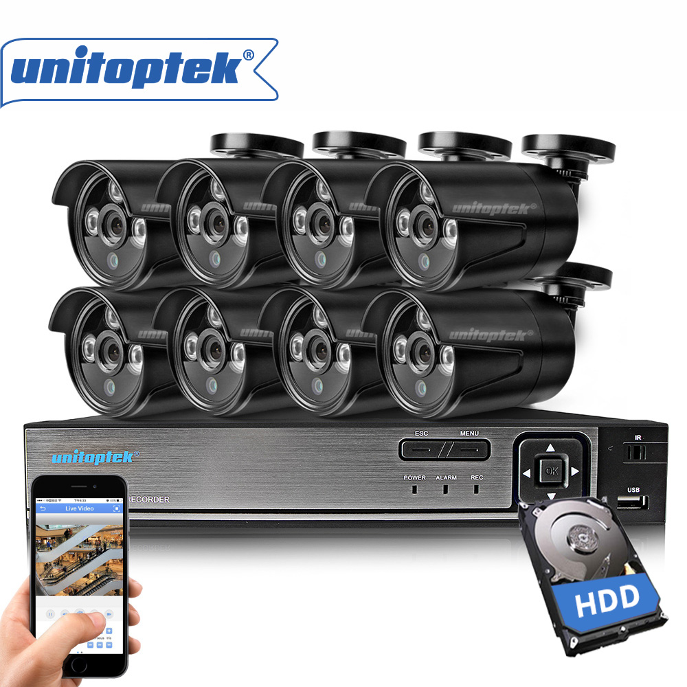 8CH CCTV System 720P HDMI AHD CCTV DVR 8Pcs 1.0MP HD IR 20M Night Vision Outdoor Home Security Camera Surveillance System Kit ahd 24ch 1080n hdmi dvr set security camera system 24pcs ahd 720p 1800tvl 3 ir outdoor night vision home surveillance camera