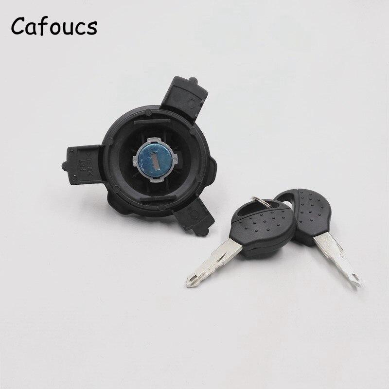 Goedkope Verkoop Cafoucs Auto Olie Tank Cap Voor Peugeot 206 207 Voor Citroen C2 Brandstoftank Cover Slot Met Twee Sleutels Maar Toch Niet Vulgair