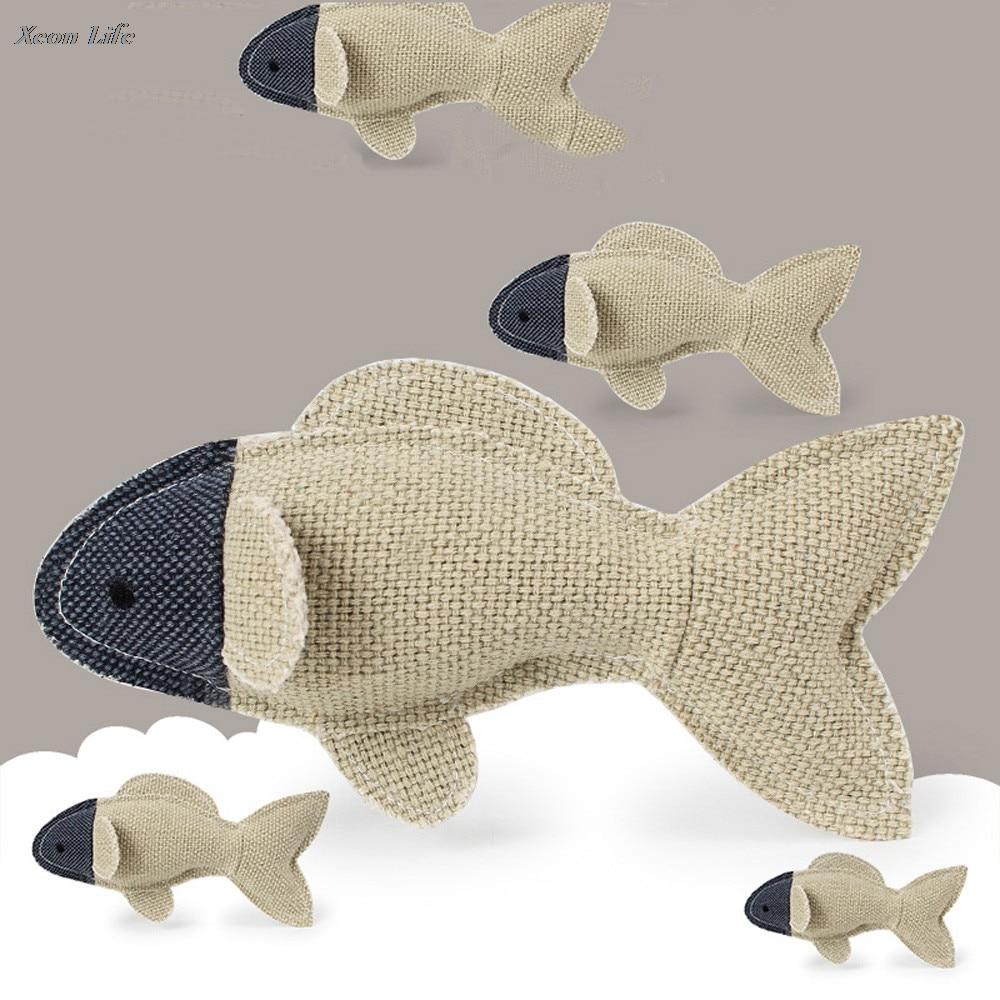 Dog Puppy Chew Toy Squeaky Plush Sound Cute Animal Design Toys