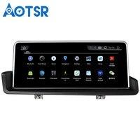 Aotsr Android 4,4 автомобиль gps навигации нет dvd плеер головного устройства для BMW 3 серии E90 E91 E92 E93 (2005 2012) 1 Din Радио стерео