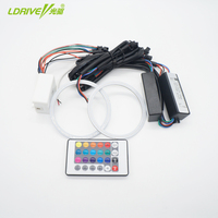 Quality 60 160mm cob rgb angel eyes 2pcs halo rings angel eye dc 12v car headlight.jpg 200x200