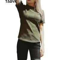 TAOVK זמש 2017 אופנה חדשה של סגנון רוסי נשים חולצה