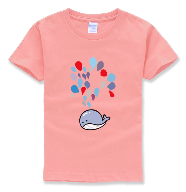 2018 summer new fashion brand clothing kids short sleeve t-shirts funny kawaii printing children t shirt baby boy clothes mma pp