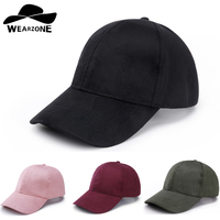 2015 Man Baseball Fitted Hats New Caps Casual Sports Suede Snapback Hat Gorra Hombre Solid Cappello