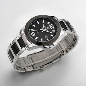 Image 2 - MEGIR Original Men Watch Stainless Steel Business Quartz Watches Calendar Wrist Watch Clock Men Relogio Masculino