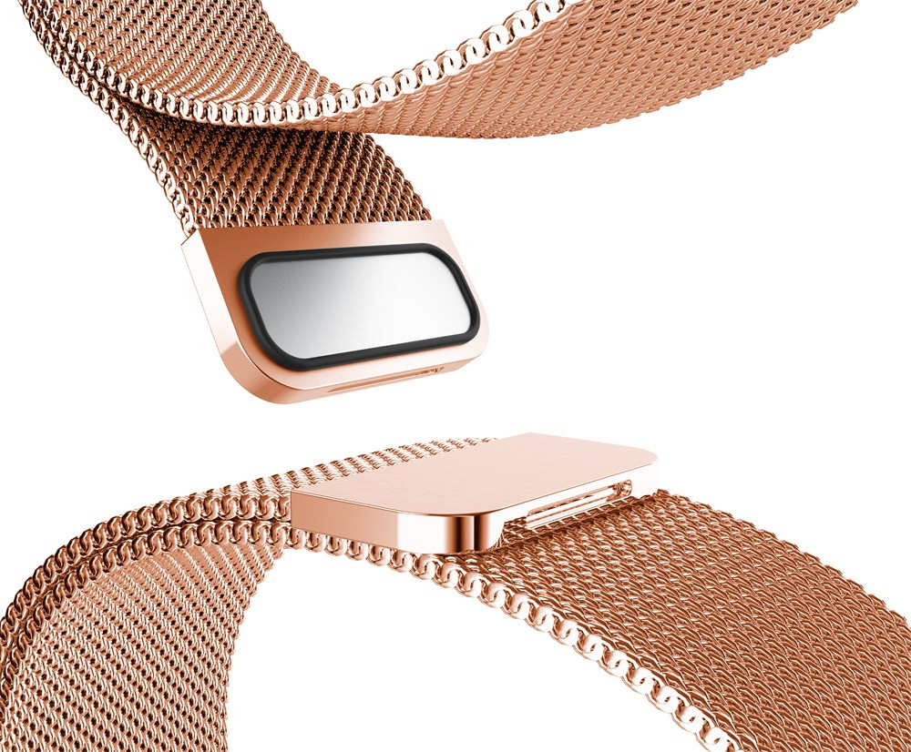 Bracelet For Fitbit Flex 2 Strap Milanese Magnetic Loop Stainless Steel Smart Band Accessories Adjustable Large Size Belt MA23f