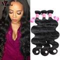 Grade 8A Brazilian Virgin Hair Body Wave 4pcs lot 100% Human Hair Weaving Cheap Unprocessed Brazilian Body Wave free Shipping