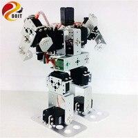 9DOF Biped Educational Humanoid Robot Kit with Servo Metal Robot DIY Kit Robot Toy