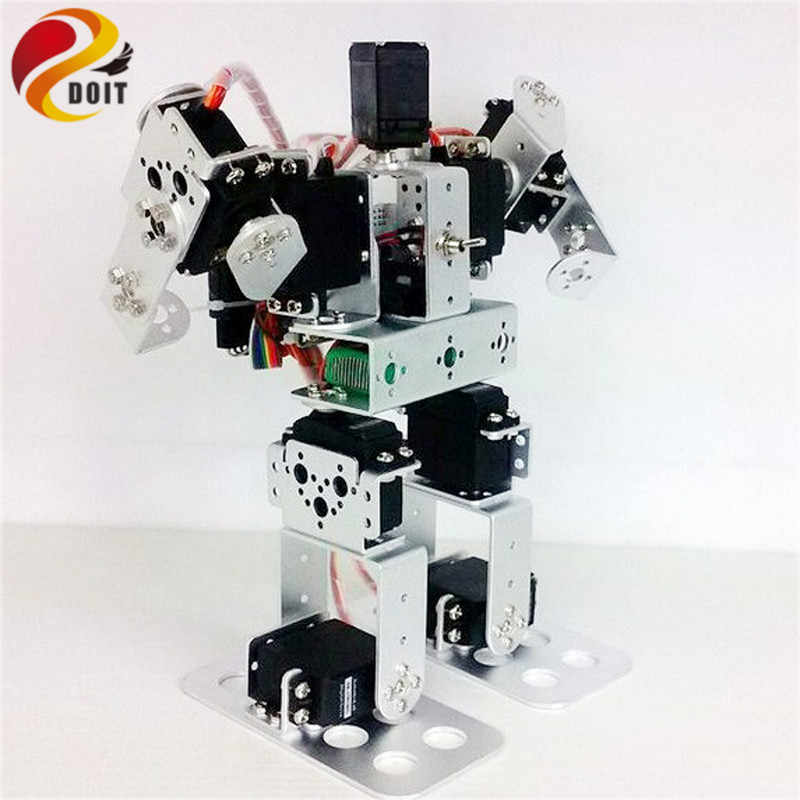 9DOF Biped образовательный человекоподобный робот комплект с сервоприводом металлический робот DIY Набор робот игрушка