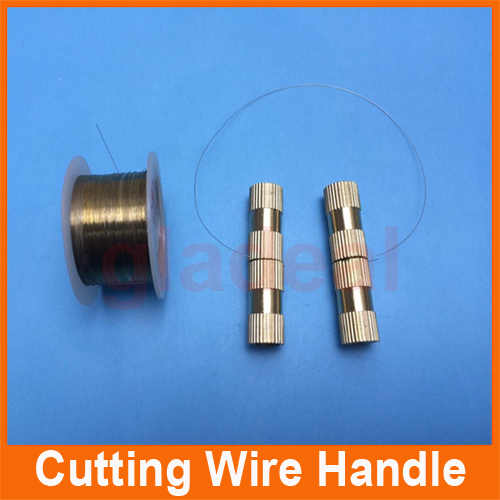 100m Cutting Wire With Metal Handle for LCD Screen Separator Machine to Splite Glass Lens for Repair Fix LCD of Samsung,iPhone