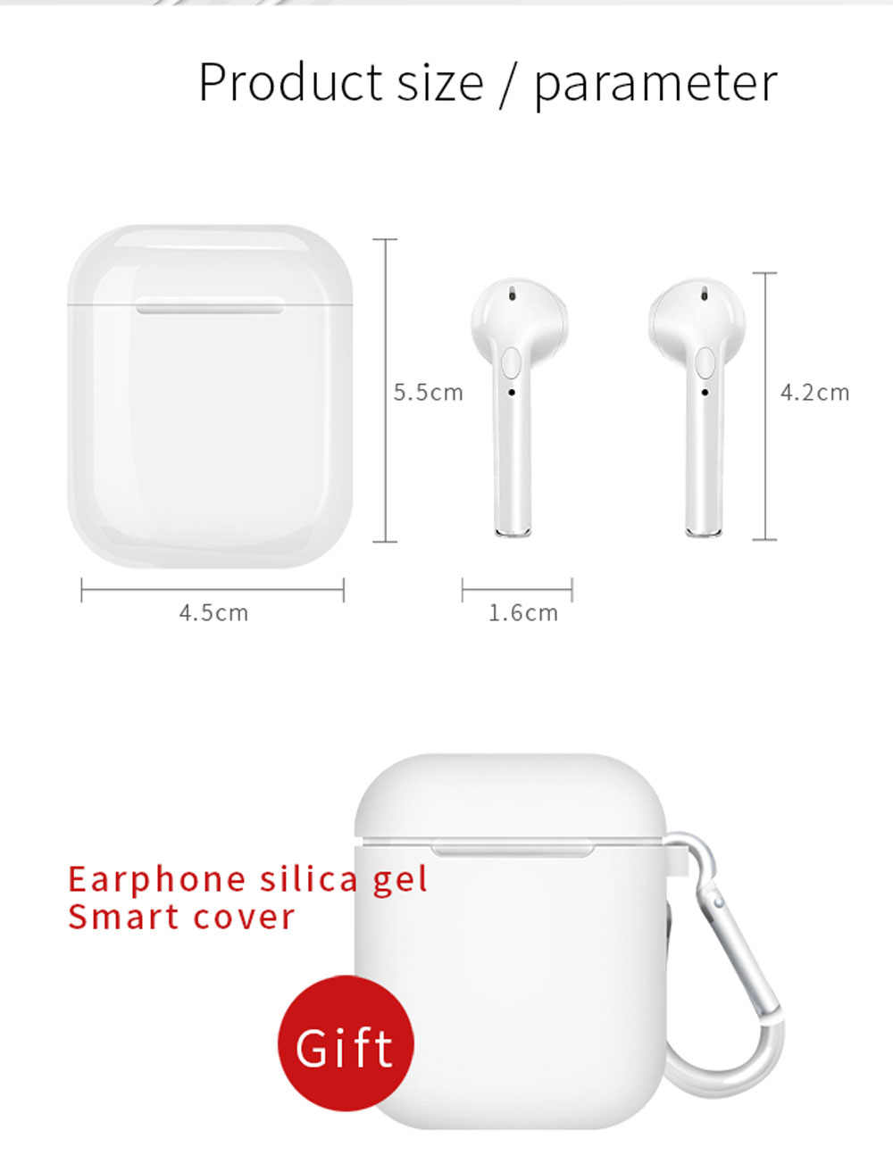 I9s TWS אוזניות מיני אלחוטי Bluetooth אוזניות אוזניות סטריאו סופר בס אוזניות אלחוטי עבור IPhone Xiaomi Huawei סמסונג