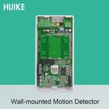 Uso interno A Parete A Infrarossi Rilevatore di movimento PIR Sensore di Movimento di Allarme Antintrusione Normalmente Chiuso o Uscita Del Segnale Normalmente Aperto
