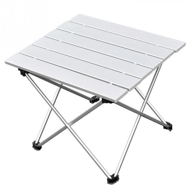 Tavolo Pieghevole Pic Nic.Alluminio Pieghevole Tavolo Portatile Tavolo Roll Up Borsa Pic Nic