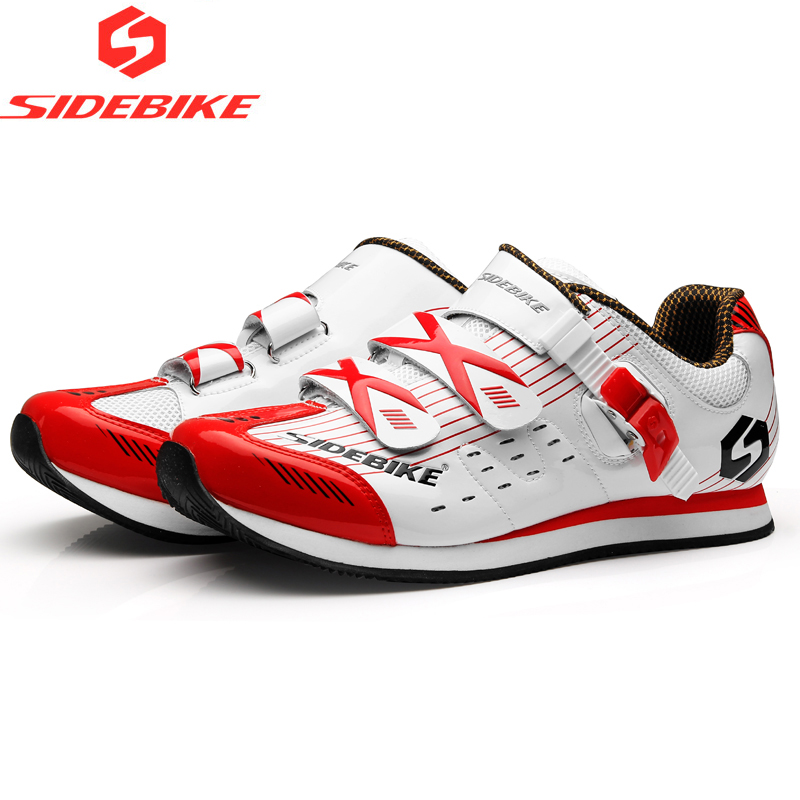 Sidebike Non Lock MTB Road Cycling Shoes Ultralight Leisure Bike Shoes Men Breathable Non Slip Bicycle