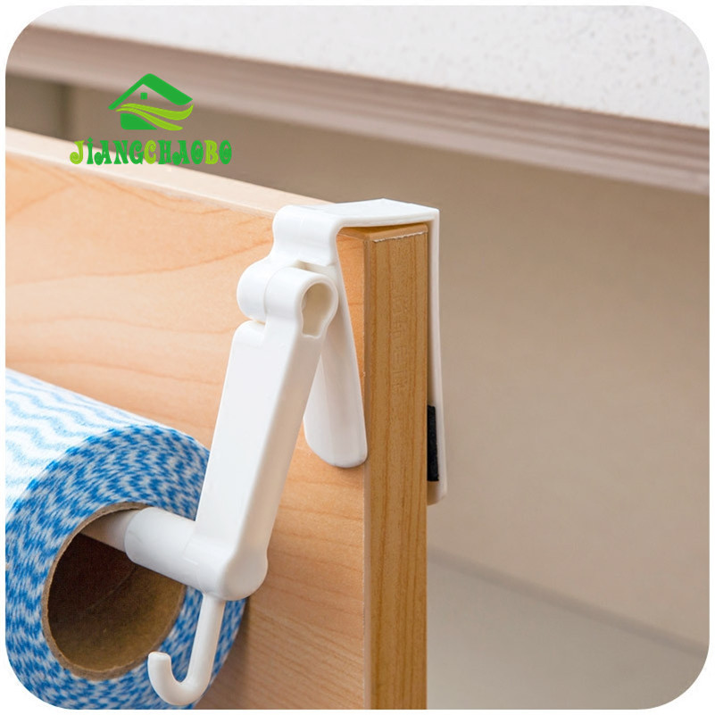 Jiangchaobo Abs Kitchen Tissue Holder Hanging Bathroom Toilet Roll Paper Holder Towel Rack