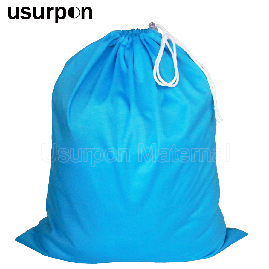 [usurpon]1 Pc Big Size 50*60cm Drawstring Bag And Waterproof Travel Wet Bag Single Pocket Pail Liner Bag Wholesale