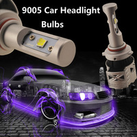 1pair 9005 Car Headlight Conversion Kit 72W CREE XHP50 Chip LED 12000LM 6500K Xenon White Auto