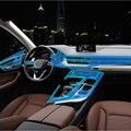 Для Audi A6 прозрачная защитная пленка ТПУ наклейки для Audi A6 Q7 A7 интерьерные автомобильные наклейки и наклейки