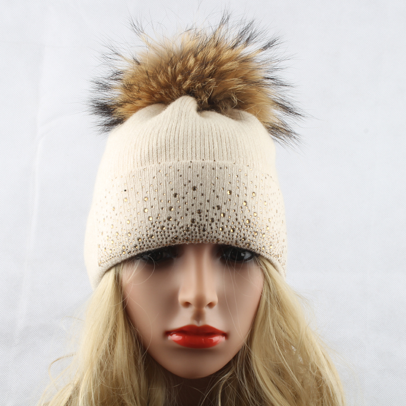 Wool Knitted Winter Bobble 6