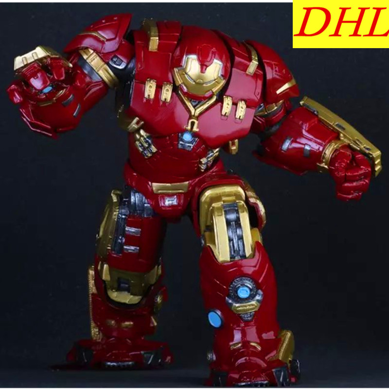 38cm Avengers 3 Movie Iron Man Tony Stark Superhero Hulkbuster PVC Action Figure Collectible Model Toy L2103 электросамокат novatrack escoo or8