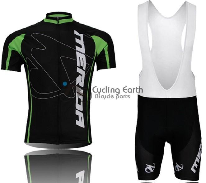 Merida 2014 #1 Cycling Jersey (bbb) shot Set Men Short Sleeve Shirt Skinsuit Sweater Bike Clothing Wear Clothes ciclismo