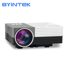 BYINTEK SKY GM50 Portable video Home Theater Mini LED Projector gm50 1080p portable mini led vga 3d projector 150 lumens home theater usb movie