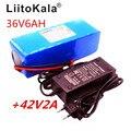 LiitoKala 36В 6ач 500 Вт 18650 литиевая батарея 36В 8ач батарея для электрического велосипеда с ПВХ чехлом для электрического велосипеда