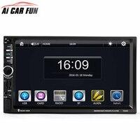 7020G Car Audio Autoradio 2 Din GPS Navigation 7 inch LCD Touch Screen Auto Radio Stereo Bluetooth Car Multimedia Player 2din