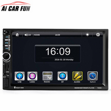 7020G Car Audio Autoradio 2 Din GPS Navigation 7 inch LCD Touch Screen Auto Radio Stereo Bluetooth Car Multimedia Player 2din