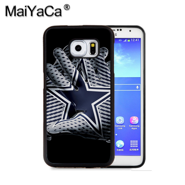 wholesale dealer 088cf a5555 US $7.5  MaiYaCa Dallas Cowboys 1 Phone Case For Samsung S9 S8 Plus S7 S6  Edge Plus Note 8 7 5 S5 S4 Mobile Rubber Cases-in Half-wrapped Case from ...