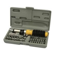 AUTO car-styling Premiun Toolbox Case 41PCS Drive Socket Set Tool Kit Torx Ratchet Driver Car Repair Tool Set Tool Kits OC 12