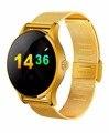 K88H Relógio Inteligente 1.22 Polegada IPS Tela Redonda Suporte Monitor De Freqüência Cardíaca Do Bluetooth smartWatch Para apple huawei IOS/Android