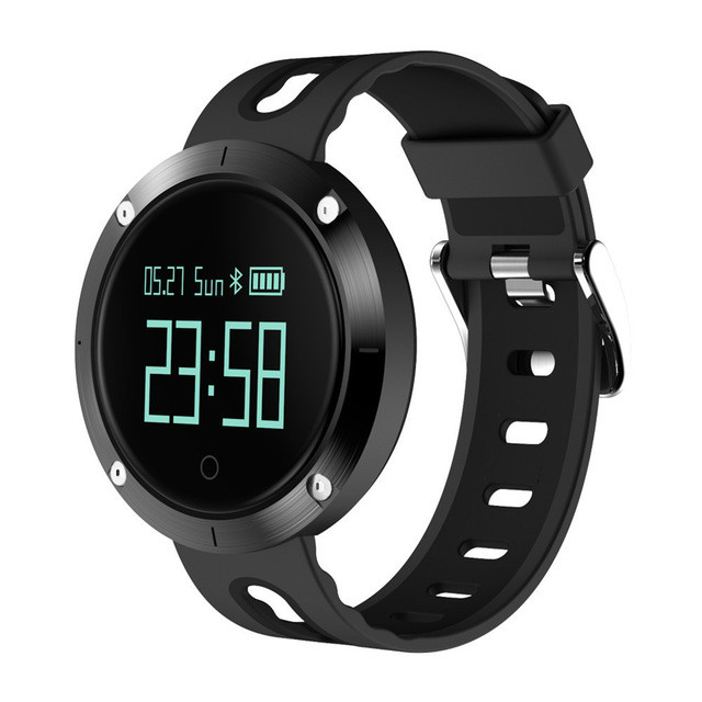 Outdoor Sports Smart Watch DM58 Bluetooth Fitness Blood Pressure Sleep Monitor Waterproof Smart Watch Suitable for Android IOS home care laser light therapy instrument wrist watch type reduce high blood pressure