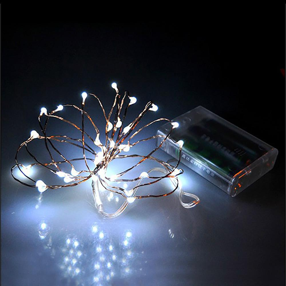 Products 3m 30 Leds Battery Operated Mini Led Copper Wire String Fairy Sparkle Lights Party Xmas Hot In From Lighting On