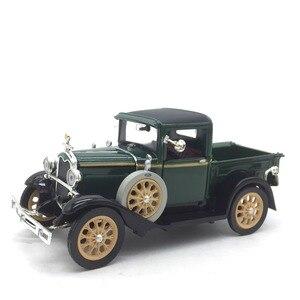 Image 5 - 1:32 מכונית קלאסי בציר עתיק משאית מודל סגסוגת רכב דגם עבור פורד אורך 13 cm