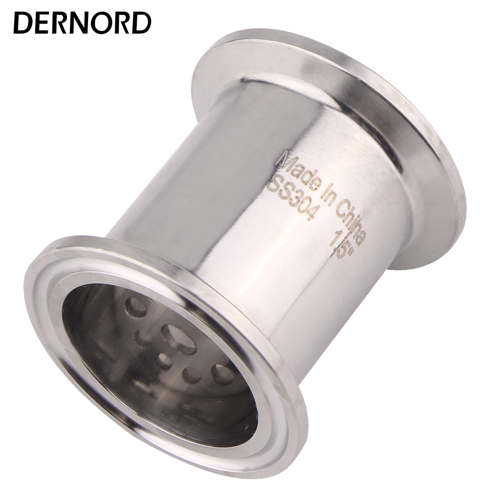 "DERNORD Sanitary Filter Plate 1.5"" 38mm OD51 Tri-clamp Stainless Steel 304"