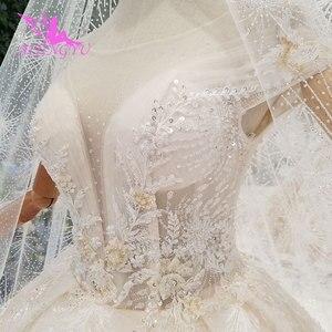 Image 3 - AIJINGYU ロングささやかなドレスガウンシンガポールとロングテールインドネシアプラスサイズ花嫁レース WeddingGown Bridalwear