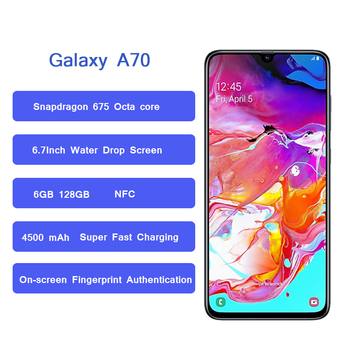 Samsung Galaxy A70 smartphone 6.7″ Infinity U Display Samsung Mobile Phones