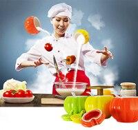 Creative Kitchens Ceramic Colorful pumpkin Seasoning Jars Condiment Cans Boxes Salt Chili Oil Tanks Sugar Tea Container