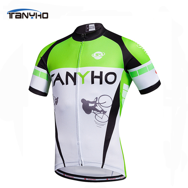 5d2d63d73 Tanyho Outdoor Sports Breathable Cycling Jersey Shirt Racing Bicycle  Clothing Ropa Maillot Ciclismo MTB Bike Clothes swear
