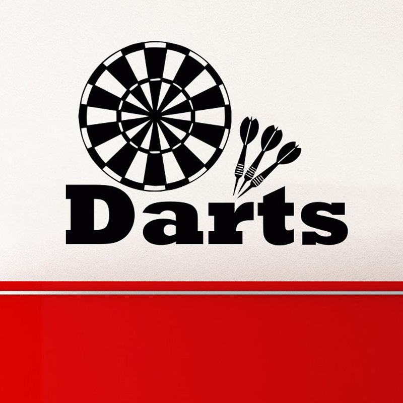 Target Darts Wall Decals Removable Vinyl Wall Stickers For Kids Boys Room  Nursery Wall Art Poster