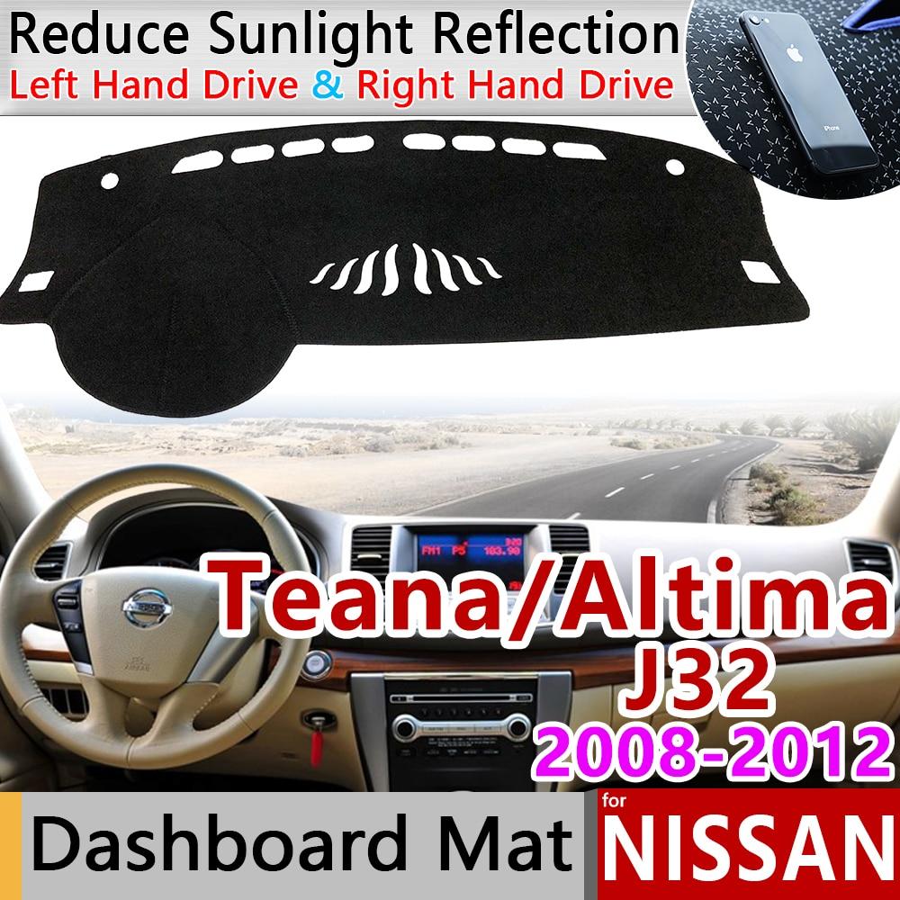 BLACK Fits 2009-2015 NISSAN MAXIMA DASH COVER MAT DASHBOARD PAD