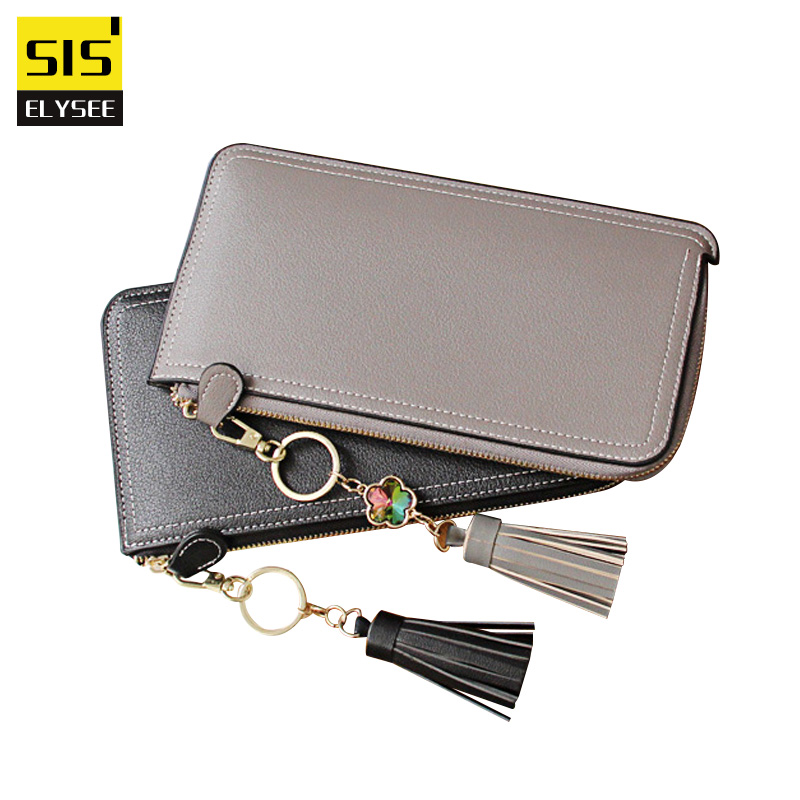 High Quality Large Capacity Women Long Wallets Zipper Handbag Brand Fashion Coin Purse Credit Card Phone Bill Holder Clutches hp 83 680ml magenta c4942a