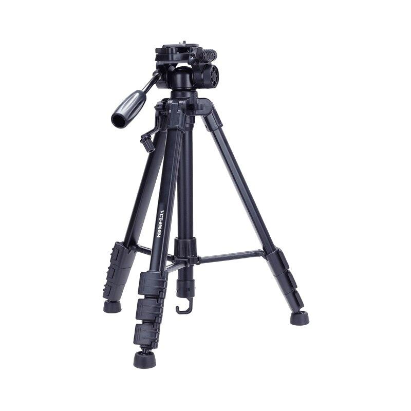 VCT 690 Profesional Camera Tripod Stand for Canon Nikon Sony DSLR Camera Camcorder Mini Protable Tripod Smartphone Camera