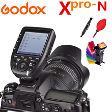 цена на Godox Xpro-N i-TTL II 2.4G Wireless X system Transmitter For Nikon Camera Fire Godox TT600 TT350 TT685 V860II SK400II Flash