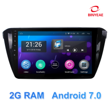 10.1″ android 7.0 RAM 2G car dvd for Skoda Superb 2016 radio with navigation car stereo bluetooth wifi GPS multimedia player DVD