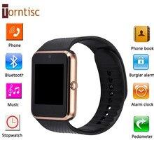 Torntisc GT08 Bluetooth Смарт Часы-Телефон поддержка MP3 TF Sim-карты Наручные Часы u8 smartWatch Для apple iPhone Android pk dz09