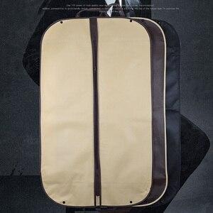 Image 5 - 2019 пылезащитный чехол для костюма сумка Портативная дорожная деловая складная сумка для одежды для дома защитная сумка AC025