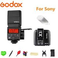 Godox V350S вспышки Speedlite GN36 2.4g беспроводное устройство X Системы ttl HSS li батареи Камера Flash + x1t s Trigger для sony DSLR камера s