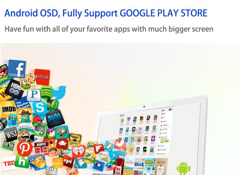 15.6 polegada HD wall mounted 15 polegada tablet pc android